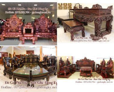 Những mẫu bàn ghế phòng khách tuyệt đẹp