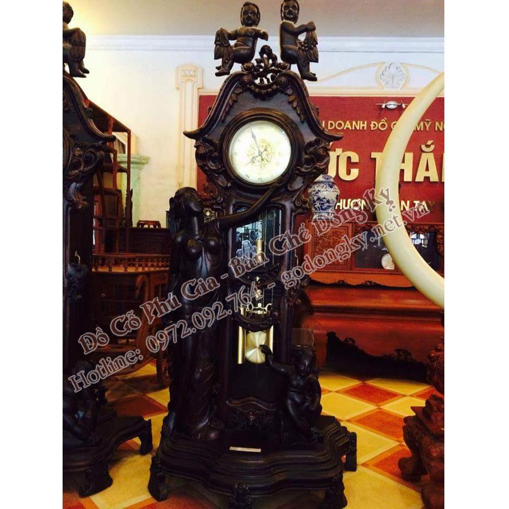 Đồng hồ cây tượng nữ thần
