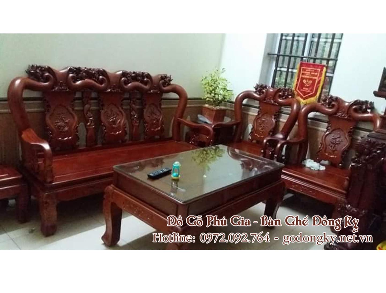 Bộ bàn ghế minh quốc đào tay 10