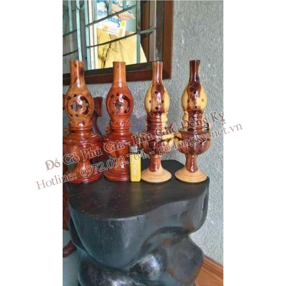 Đèn thờ bằng gỗ các loại giá