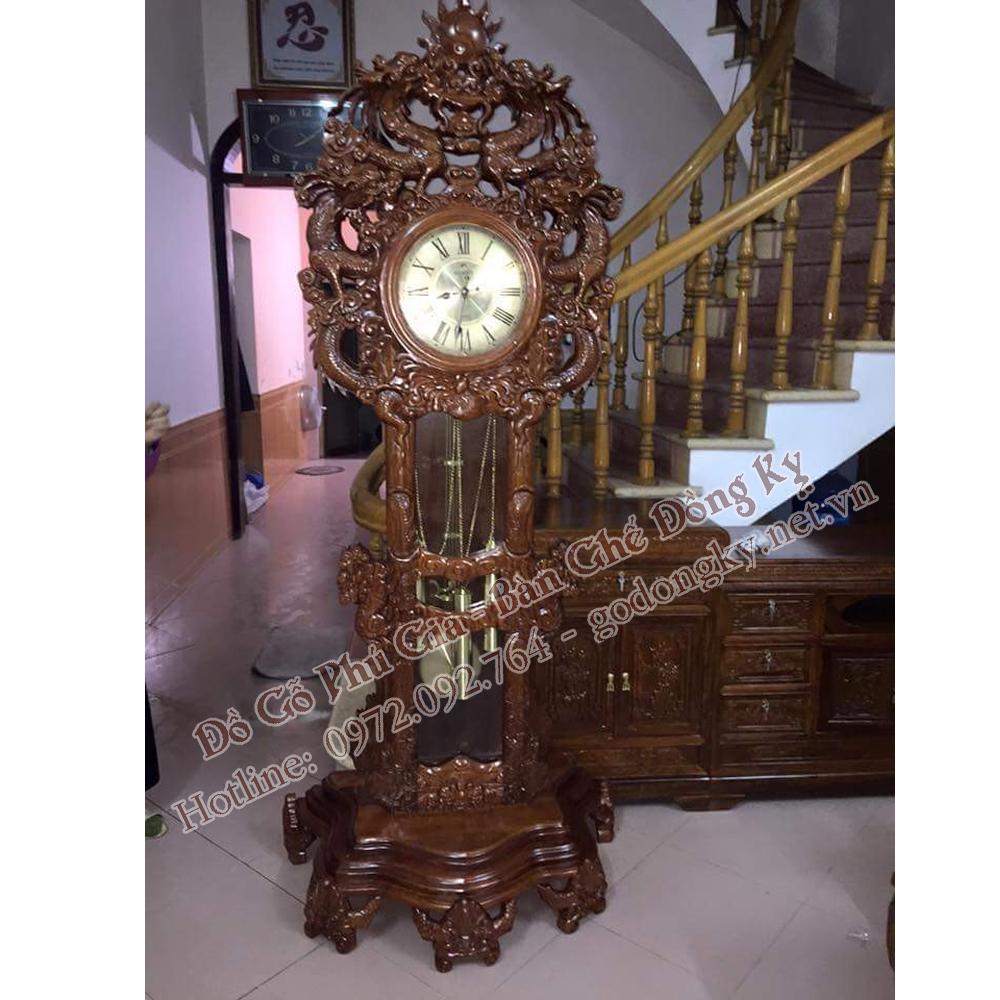 Đồng hồ kiểu cửu rồng ( ĐH15)