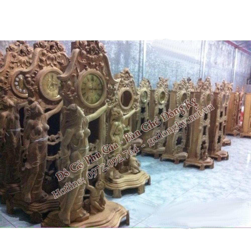 Các mẫu đồng hồ tượng nữ thần đẹp