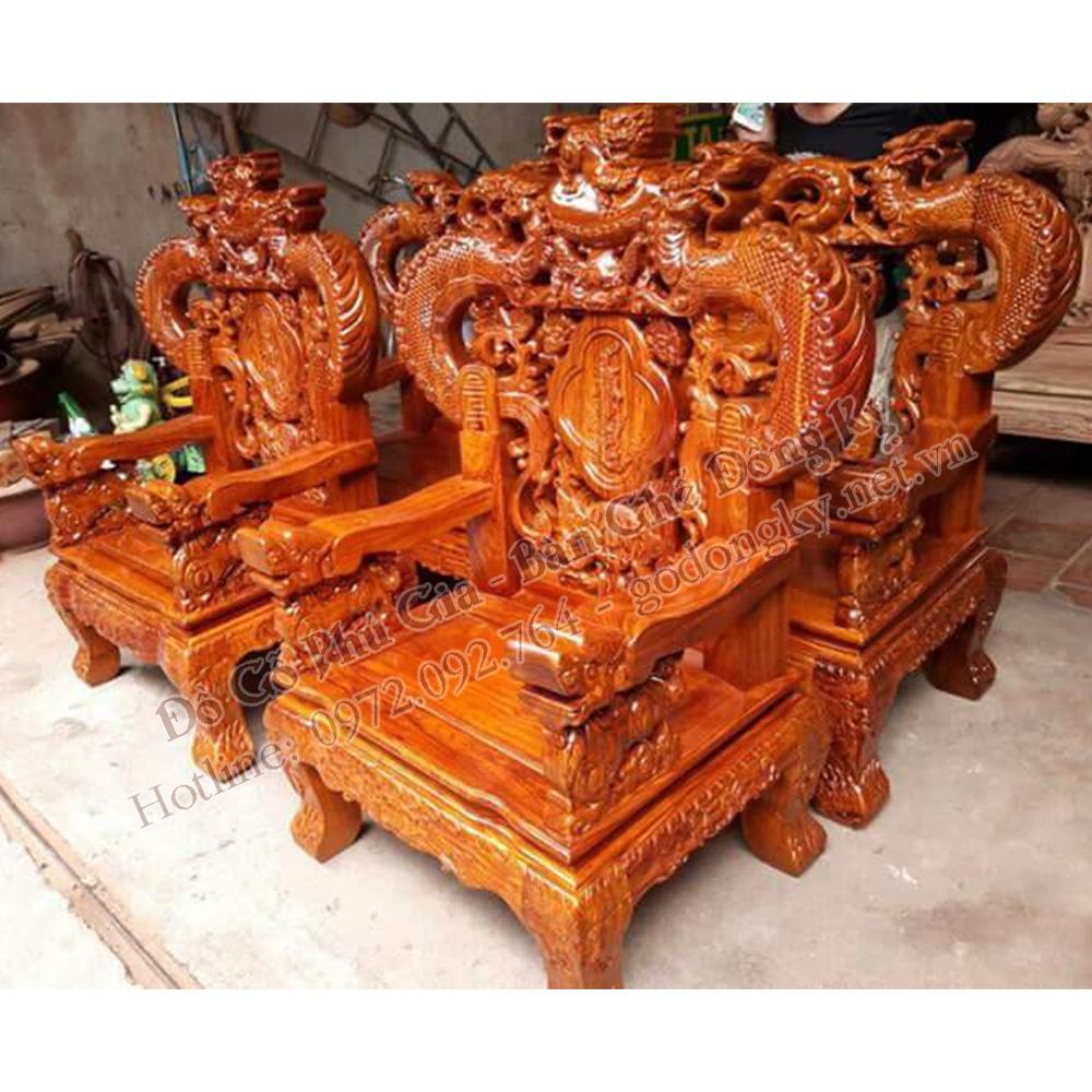 Những bộ bàn ghế của đồ gỗ đồng kỵ Phú Gia dưới 50 triệu (P3)