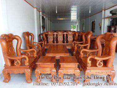 Những bộ bàn ghế của đồ gỗ đồng kỵ Phú Gia dưới 50 triệu (P2)
