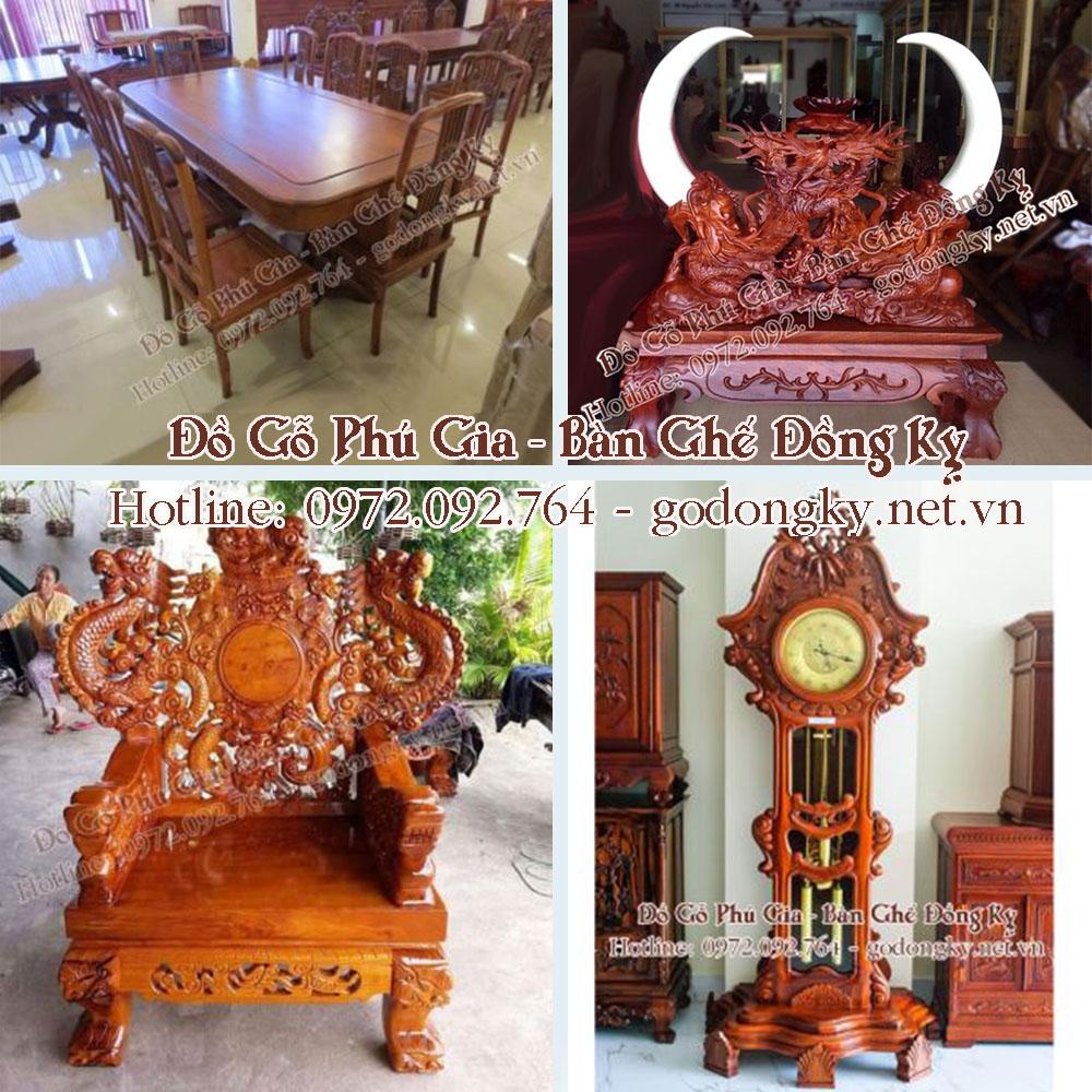 Xưởng sản xuất đồ gỗ mỹ nghệ đồng kỵ Phú Gia