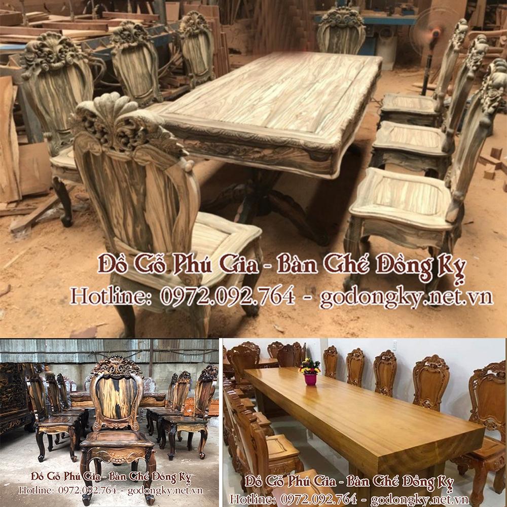 Đồ gỗ đồng kỵ Phú Gia - Tinh hoa nghề mộc truyền thống