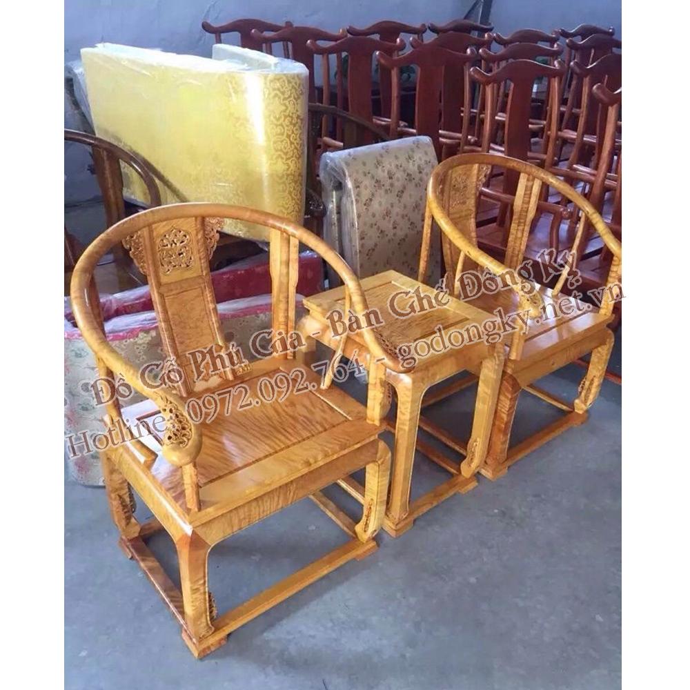 Bộ bàn ghế minh đế gỗ nu nghiến