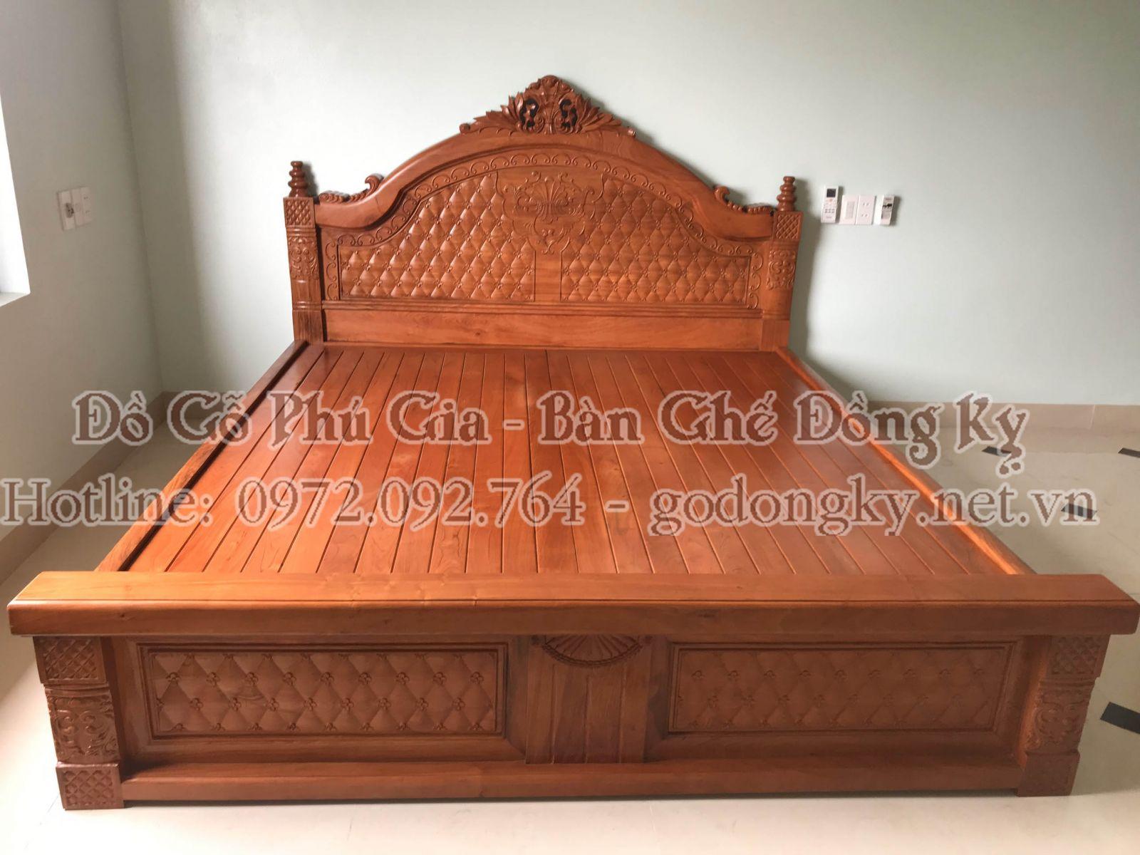 giường ngủ đồ gỗ đồng kỵ 20