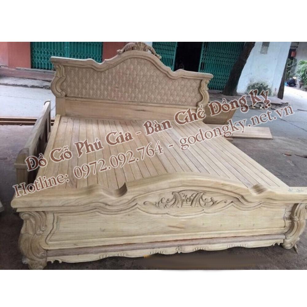 giường ngủ gỗ đồng kỵ 10